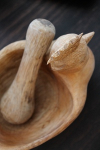 Chicken Mortar and Pestle