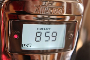 Slow cooker timer