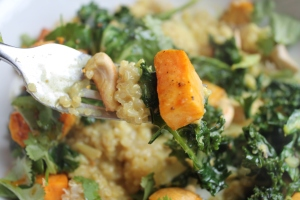 Quinoa Yellow Curry