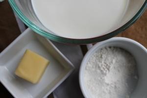 Roux ingredients