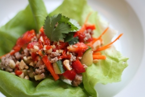 Portk Lettuce Wraps