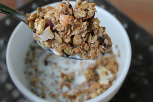 Granola and Milk
