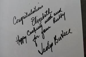 Lidia's signature