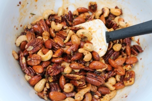 Mix spiced nuts