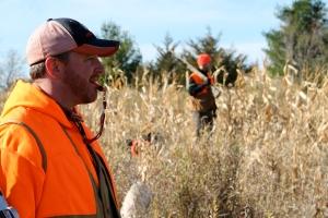 Jay pheasant hunting